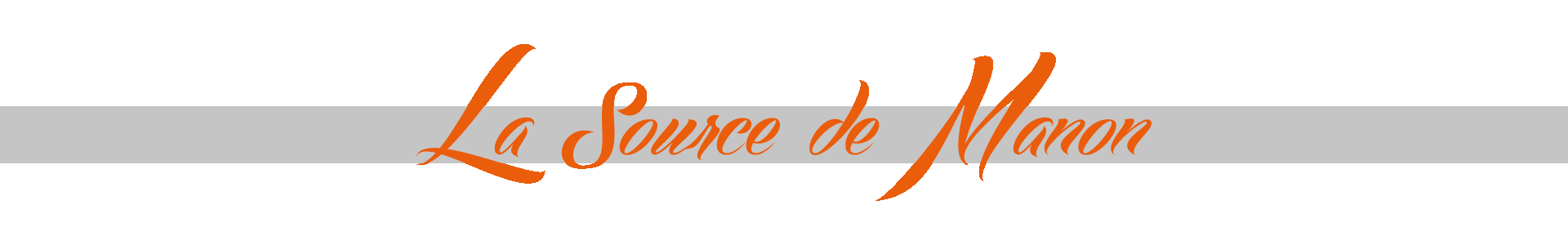 La Source de Manon - logo