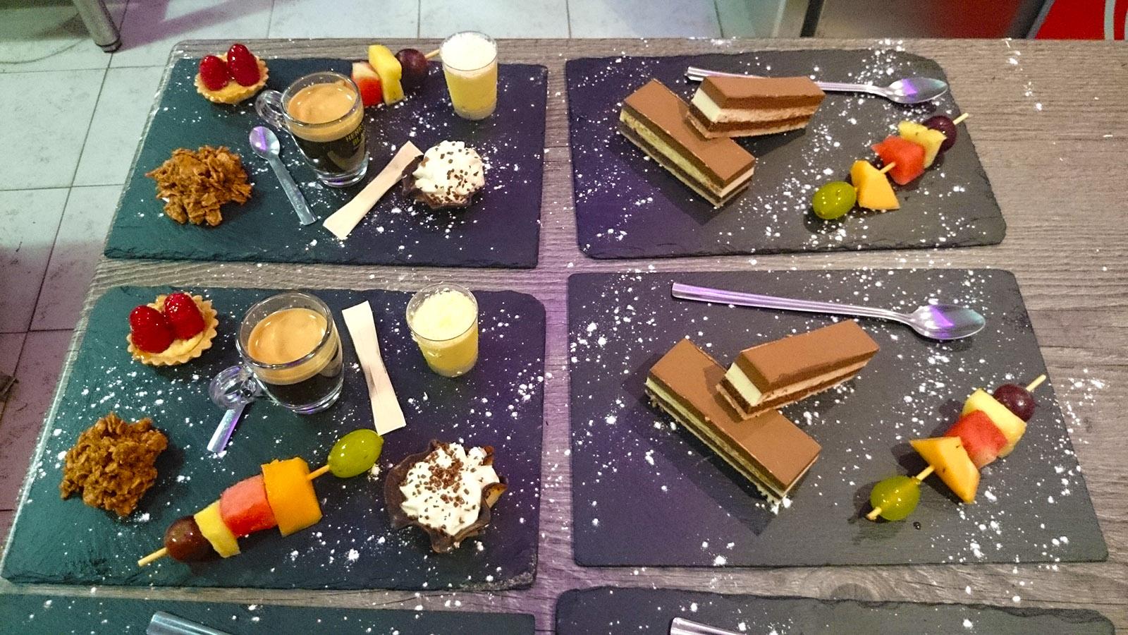 Mariage - Desserts