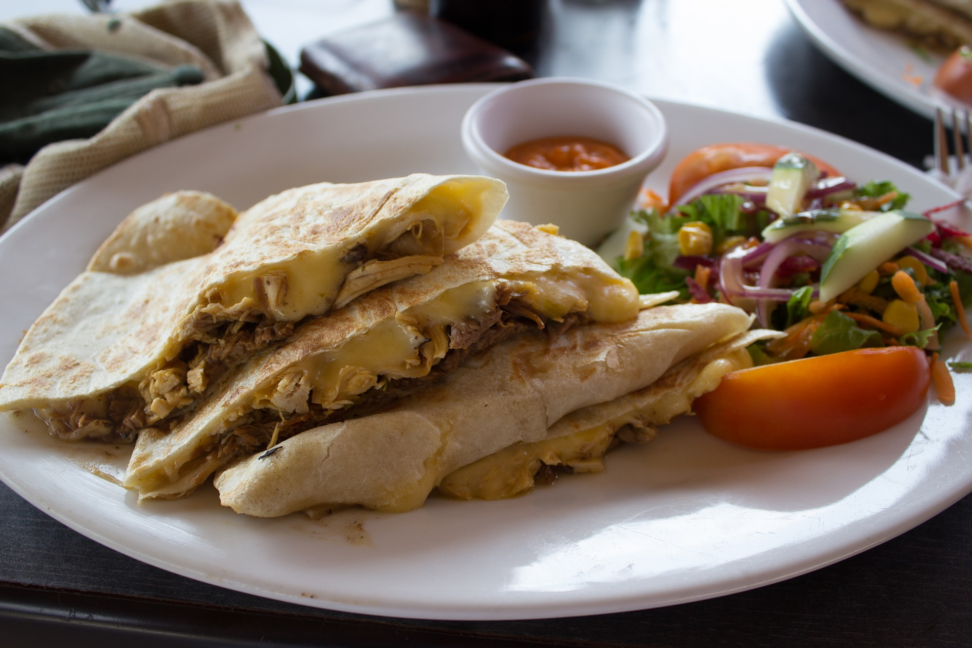 Buffet mexicain - Quesadillas