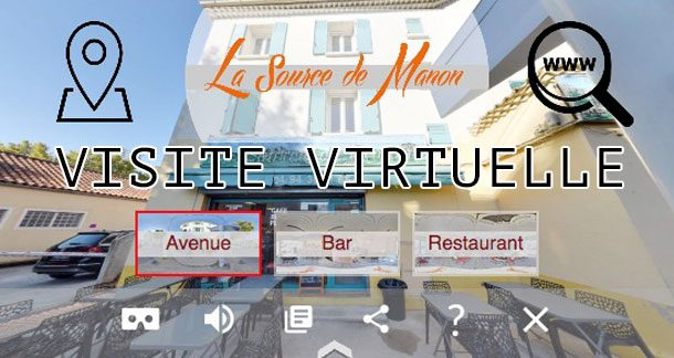 La source de Manon : visite virtuelle